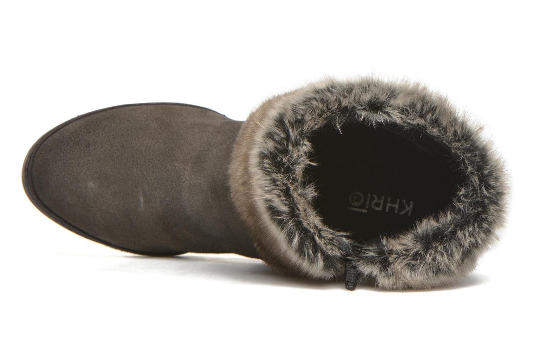 Bottines et boots Khrio Alma Gris vue gauche