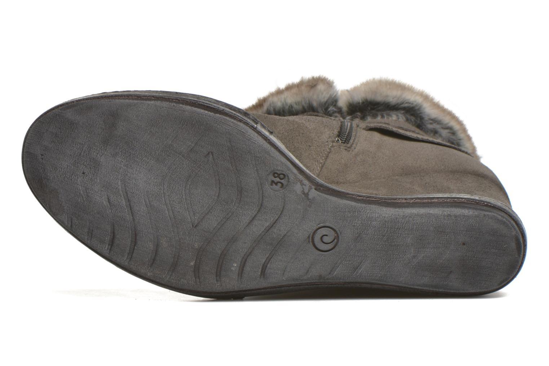 Bottines et boots Khrio Alma Gris vue haut