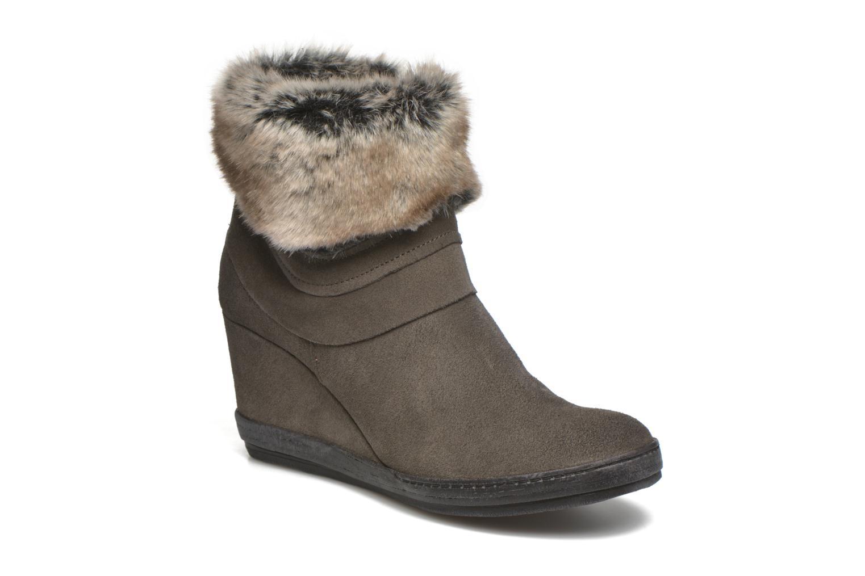 Bottines et boots Khrio Alma Gris vue détail/paire