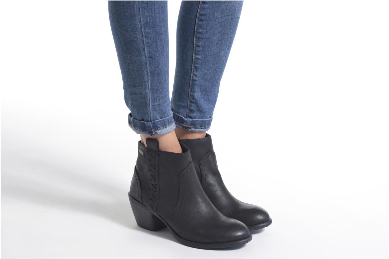 Bottines et boots MTNG Ellen Marron vue bas / vue portée sac