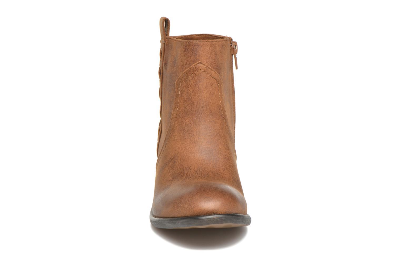 Bottines et boots MTNG Ellen Marron vue portées chaussures