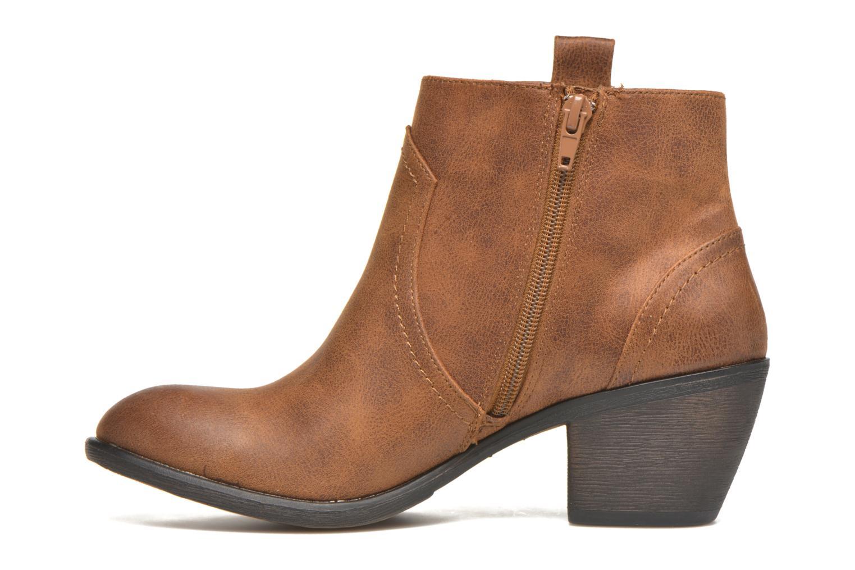 Bottines et boots MTNG Ellen Marron vue face