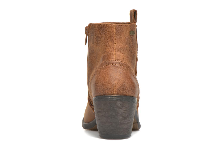 Bottines et boots MTNG Ellen Marron vue droite