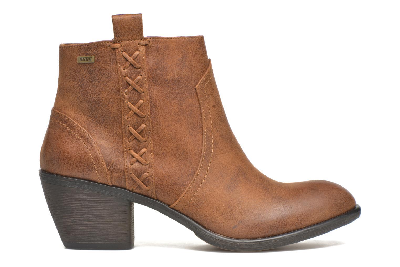 Bottines et boots MTNG Ellen Marron vue derrière
