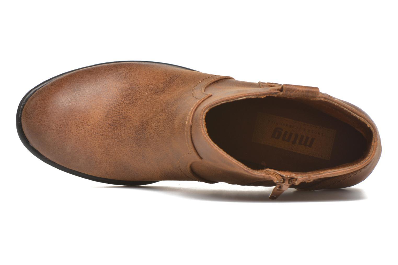 Bottines et boots MTNG Ellen Marron vue gauche