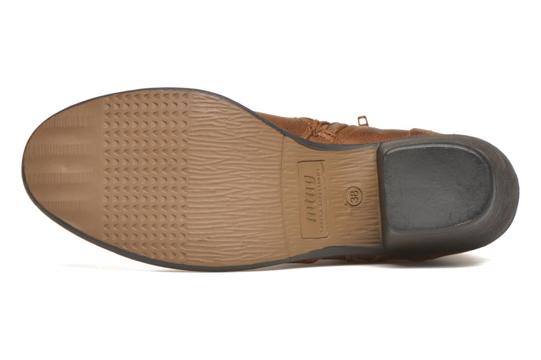 Bottines et boots MTNG Ellen Marron vue haut