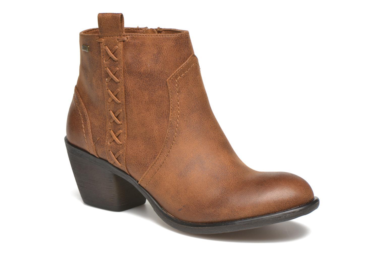 Bottines et boots MTNG Ellen Marron vue détail/paire