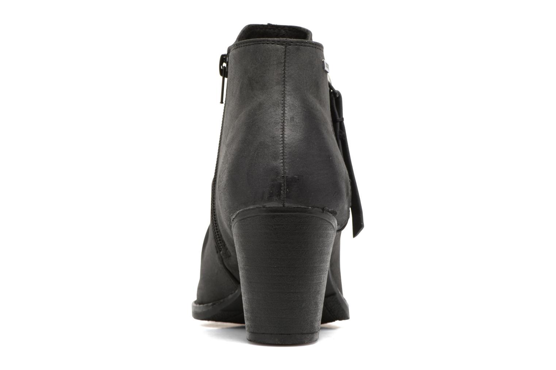 Bottines et boots MTNG West Noir vue droite