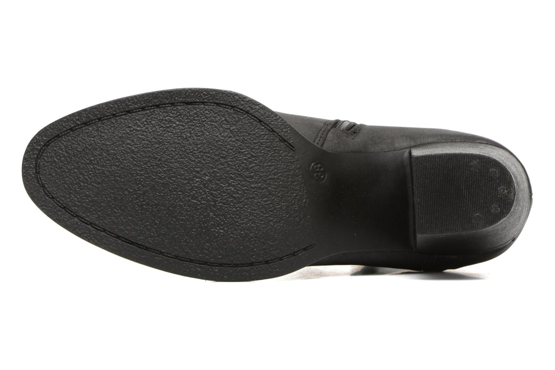 Bottines et boots MTNG West Noir vue haut