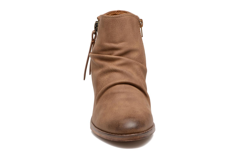Bottines et boots MTNG West Marron vue portées chaussures