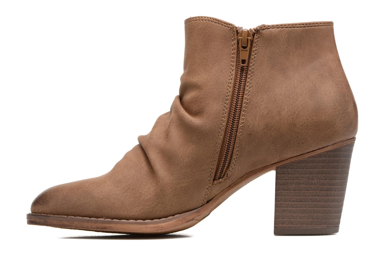 Bottines et boots MTNG West Marron vue face