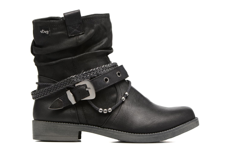 Bottines et boots MTNG Fausta Noir vue derrière