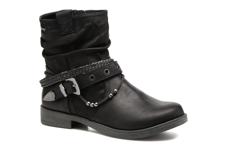 Bottines et boots MTNG Fausta Noir vue détail/paire