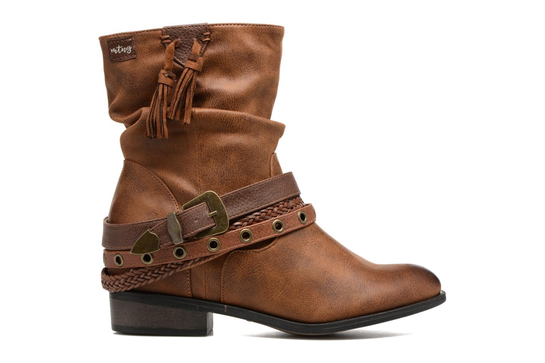 Bottines et boots MTNG Wendy Marron vue derrière