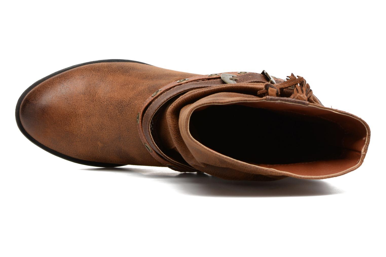 Bottines et boots MTNG Wendy Marron vue gauche