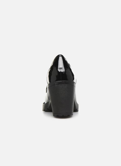 Bottines et boots MTNG Tina Noir vue droite