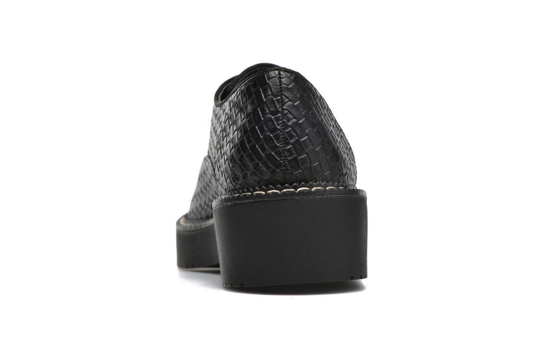 Chaussures à lacets MTNG Pinky Noir vue droite