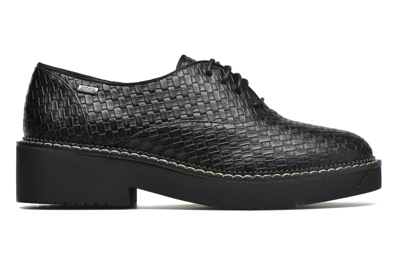 Chaussures à lacets MTNG Pinky Noir vue derrière