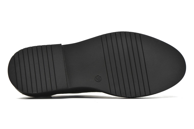 Chaussures à lacets MTNG Pinky Noir vue haut