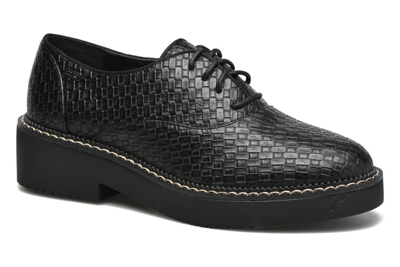 Chaussures à lacets MTNG Pinky Noir vue détail/paire