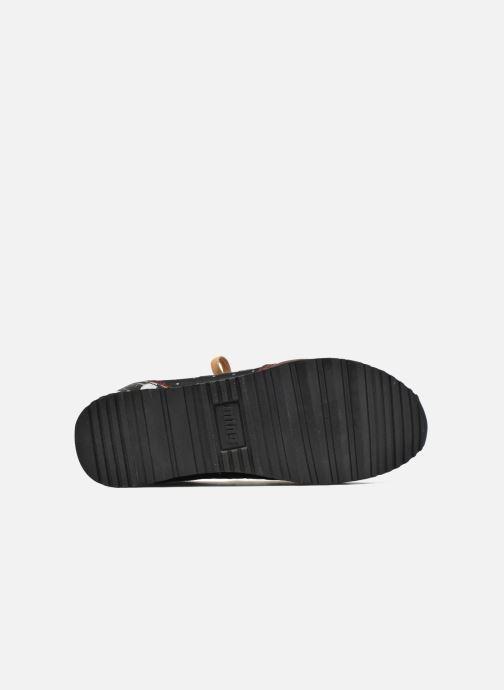 Baskets MTNG Dore Noir vue haut
