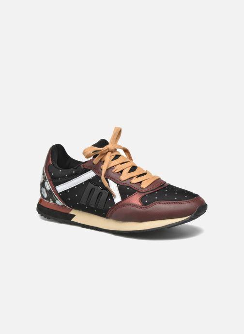 Baskets MTNG Dore Noir vue détail/paire