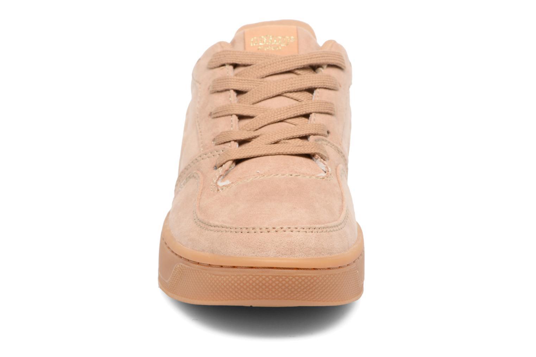 Baskets MTNG Cima Beige vue portées chaussures