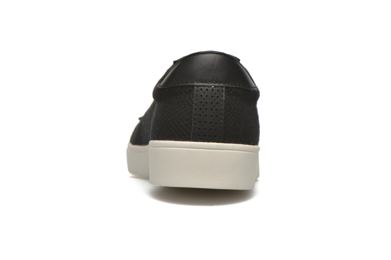 Sneakers Fred Perry Spencer Herringbone Zwart rechts