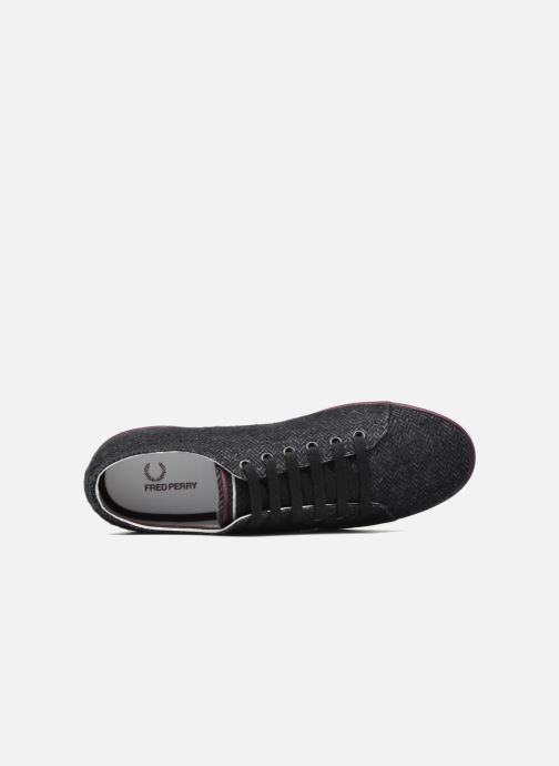 Baskets Fred Perry Kingston Tweed Gris vue gauche