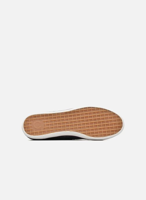 Baskets Fred Perry Kingston Tweed Gris vue haut