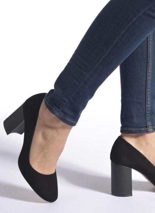 Zapatos de tacón Dune London Abelle Negro vista de abajo