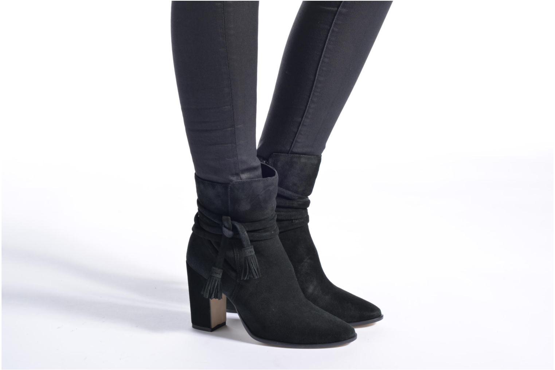 Boots en enkellaarsjes Dune London Onyx Zwart onder