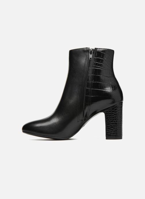 Bottines et boots Dune London Opel Noir vue face