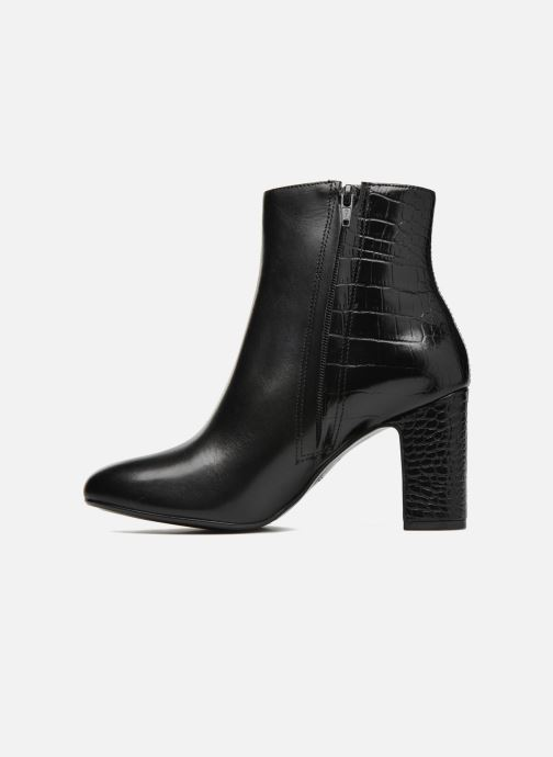 Bottines et boots Dune London Opel Noir vue face