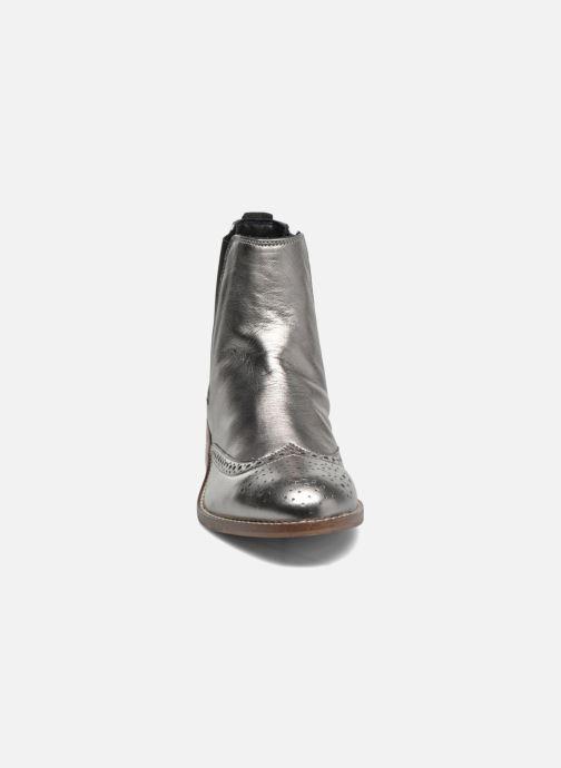 Bottines et boots Dune London Quentin Argent vue portées chaussures