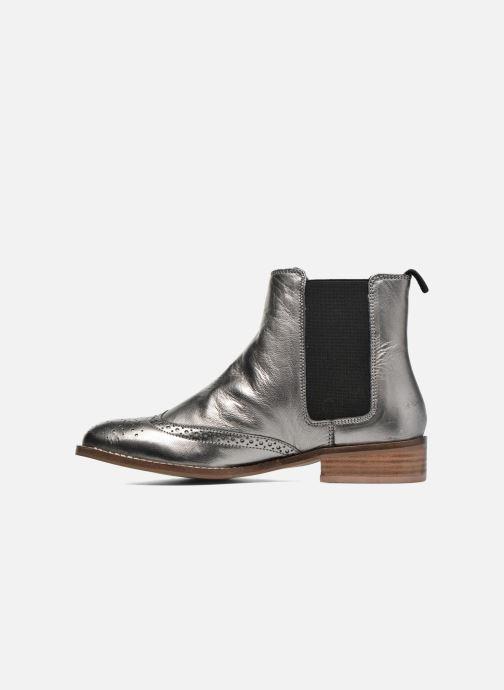 Bottines et boots Dune London Quentin Argent vue face