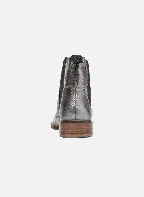 Bottines et boots Dune London Quentin Argent vue droite