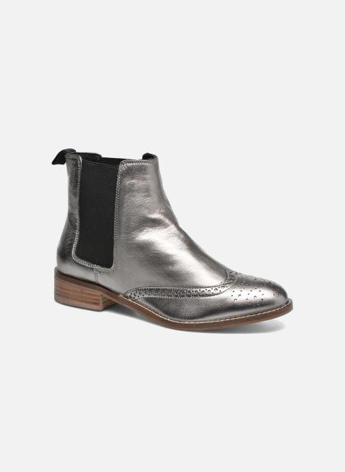 Bottines et boots Dune London Quentin Argent vue détail/paire