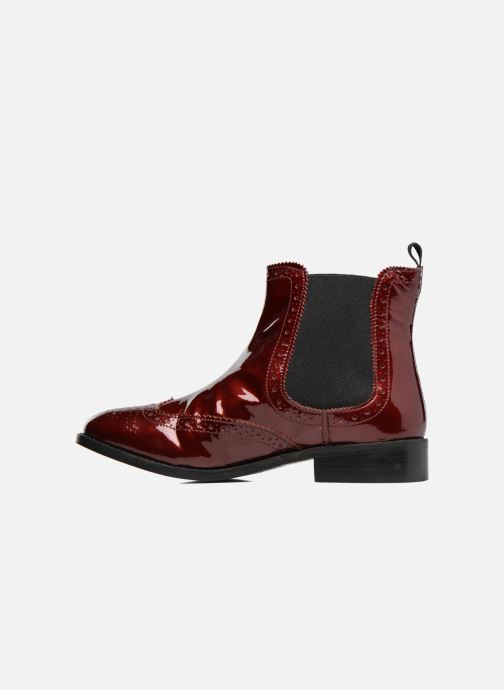 Bottines et boots Dune London Quentin Bordeaux vue face