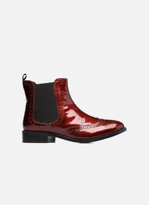 Ankle boots Dune London Quentin Burgundy back view
