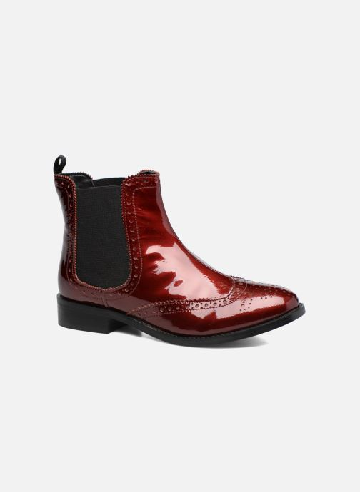 Bottines et boots Dune London Quentin Bordeaux vue détail/paire