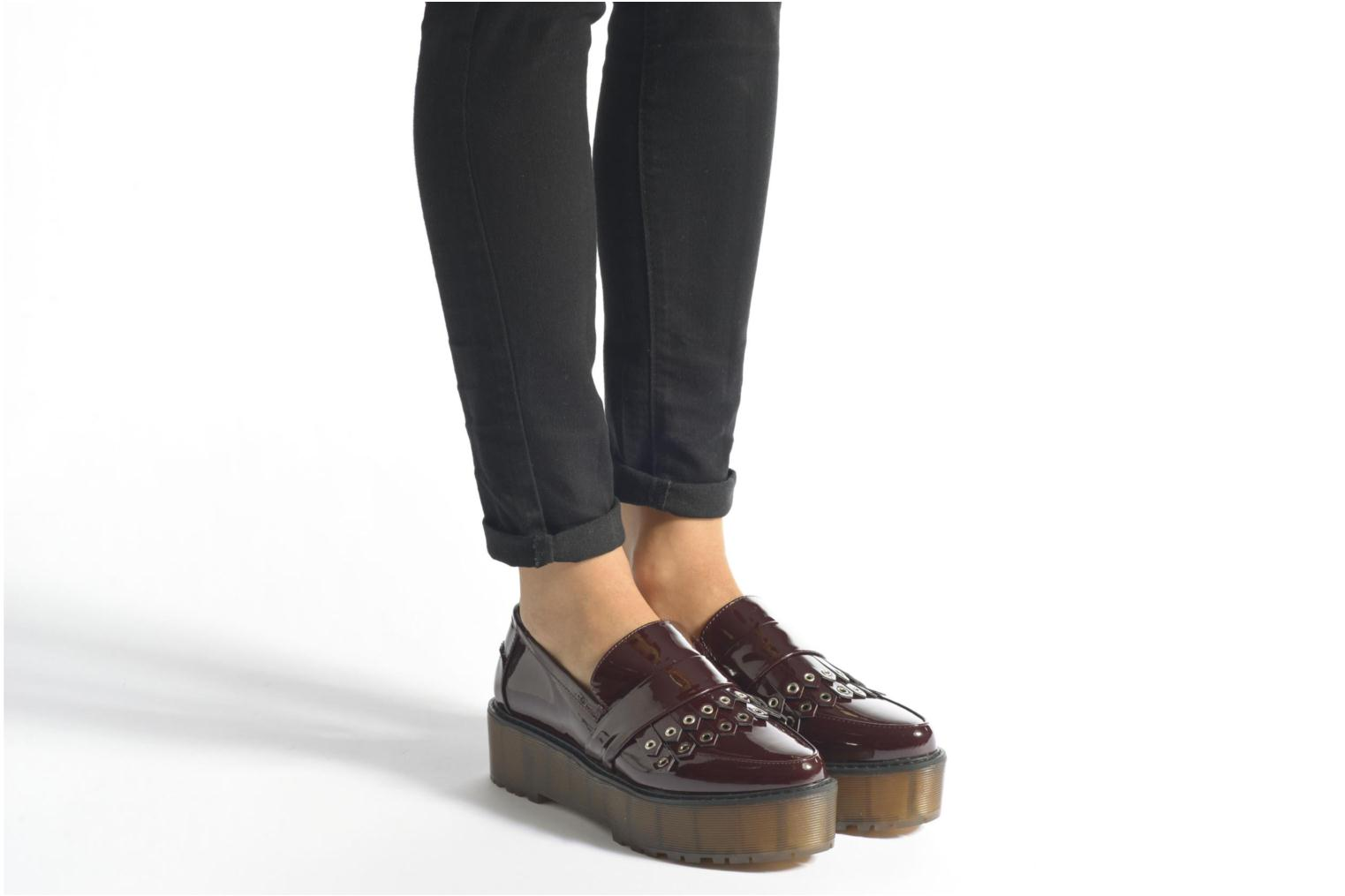 Loafers Sixty Seven Ela Brown view from underneath / model view