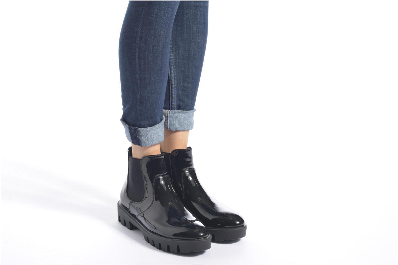 Bottines et boots Sixty Seven Zoe Noir vue bas / vue portée sac