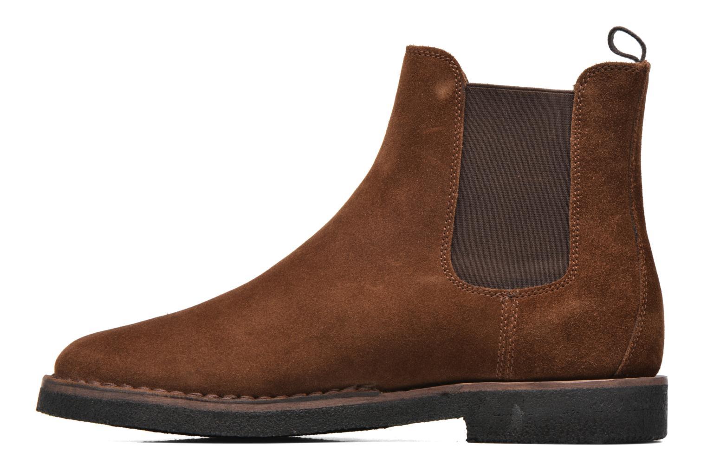 Stiefeletten & Boots Frye Arden Chealsea braun ansicht von vorne