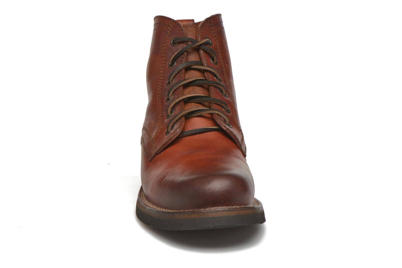 Bottines et boots Frye Roland Lace Up Marron vue portées chaussures