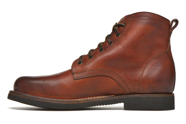 Bottines et boots Frye Roland Lace Up Marron vue face