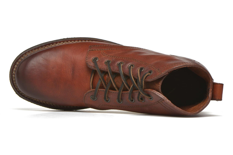 Bottines et boots Frye Roland Lace Up Marron vue gauche
