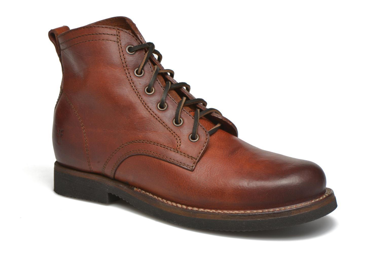 Bottines et boots Frye Roland Lace Up Marron vue détail/paire