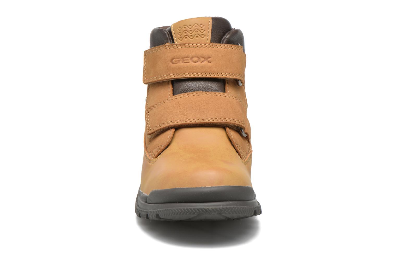 Bottines et boots Geox J William B Abx A J6431A Beige vue portées chaussures