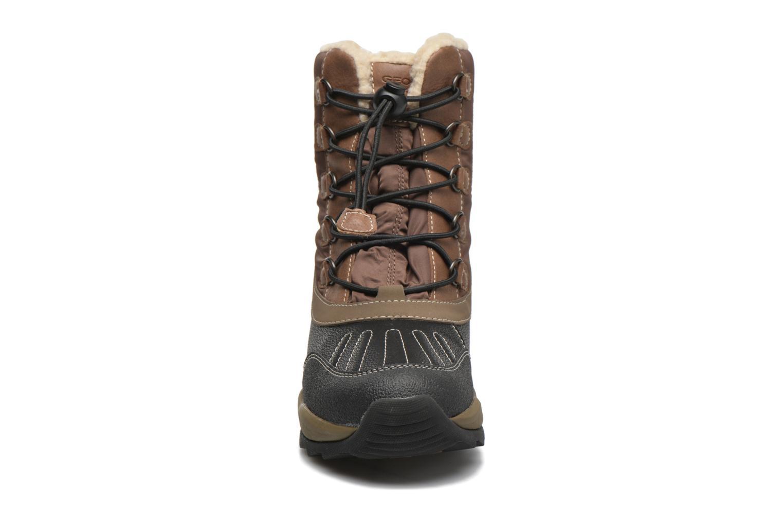 Bottes Geox J Orizont B Abx J540BD Marron vue portées chaussures